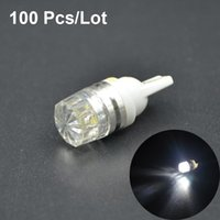 Wholesale 100pcs High Power T10 W5W LED Door Light clearance Bulb car led lamp corner parking light white car styling