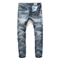 denim jeans - New Arrival Men s Jeans N K Jeans men Hot sale Hight Quality Jeans Pure Cotton Denim Jeans