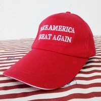 ball america - Make America Great Again Hat Donald Trump for President Adjustable Cap Color black white red