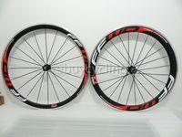 Wholesale Quanlity guarantee carbon road bike wheelset ffwd f4r f6r alloy carbon wheels bicycle wheel set mm clincher F6r carbon wheels Tubular c