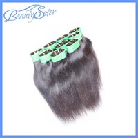 Indian Hair paypal free shipping - Indian Hair Extensions Indian Remy Hair Human Hair Weaves Accept Paypal Cheap Kg Bundle Straight Human Hair Weft