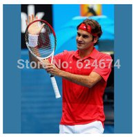 Wholesale Top Quality Pro Staff Six One Roger Federer Tennis Racket Racquet With Bag A5