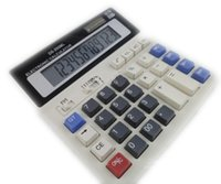Wholesale Calculators Cheap In Stock Office School Suppliers Calculators Real Images Durable Electronic Calculators for Student Calculator DS ML