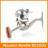 Cheap 2014 New 6 BB Coil High Power Gear Spinning Spool Aluminum Fishing Reel SG1000 Free Shipping for outdoor sports