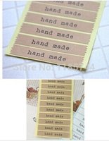 batch labels - Leather handmade sticker label sticker packaging pieces batch of
