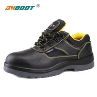 Wholesale ANBOOT safety shoes Anti smashing Non slip Anti puncture Insulated