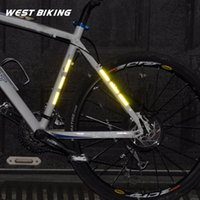Wholesale 30cm cm Bicycle Spokes Reflective Sticker Stripe Mountain Bike Circle Warning Strips M Reflecting Material Cycling Spoke