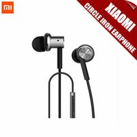al por mayor teléfono xiaomi hongmi-Auriculares originales del receptor de cabeza de los auriculares de los auriculares del hierro del círculo de Xiaomi con la caja al por menor alejada de Mic Retail para XIAOMI M3 M2 Teléfono de Hongmi