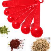 bakery utensils - 6 in Measuring Spoons Spice Cup Sugar Salt Bakery Cooking Kitchen Tool Utensil