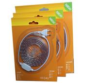 Wholesale AC220v AC110v SMD LED Flex Strip Light m m m m led strip outdoor set waterproof strip kit easy for use