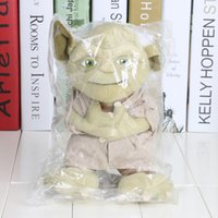 Wholesale Movie star war Master Yoda Mimion Master of wisdom Plush Toys Dolls Chirstmas Gifts