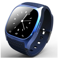 Wholesale Shenzhen Bluetooth Smart U Watch luxury wristwatch M26 smartwatch with Dial SMS Remind Pedometer for IOS Android Samsung phone