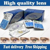 Wholesale new arrived freshlook colors piece pack lenses kind Colors Contact Lenses Mix Color pairs EMS free get pairs