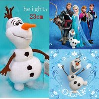 Wholesale 2015 Hot cm height Cartoon Movie Frozen Toys Olaf and Sven Snowman Milu Deer Kristoff friend Sven Plush Toy Stuffed Doll for Kids