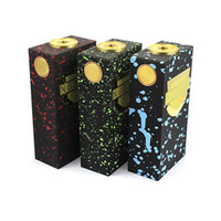 Cheap Newest Nookie Box Mod Vaporizer clone Vape Black Mechanical mods 7 Colors POM+Red Copper+Brass material fit Stumpy rda taifun gs v2 tank DHL