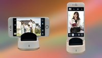 Wholesale Bluetooth Wireless Remote Shutter Self timer Self Timer Selfie Robot for Smartphones for iPhone plus