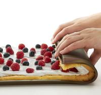 Wholesale Silicone Cake Pan Swiss Cake Rolling Pan Swiss Rolls Maker Non Stick Multi Functional Bakeware Mat
