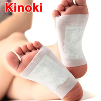 beauty detox - 50 Detox Foot Patch Bamboo vinegar Pads Improve Sleep Beauty Slimming Patch Patches Adhesives Herbal Cleansing Patch