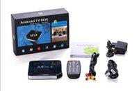Cheap Amlogic TV110 MXII Smart TV Box 4 CPU 1.5GHZ AML8726MX Dual Core HD TV Player 1GB DDR3 4GB 1.5GHz HDMI WIFI Bluetooth Android 4.2 TV Box