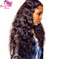 Natural Color Brazilian hair Body Wave 6A Grade Loose Wave Malaysian Virgin Hair Full Lace Wig For Black Women Unprocessed Full Lace Virgin Hair Wigs With Baby Hair
