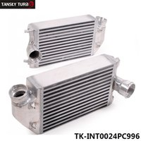 Wholesale TANSKY Twin Left Right Turbo Bolt on Intercooler Bolt On hp For PORSCHE TT TURBO TK INT0024PC996