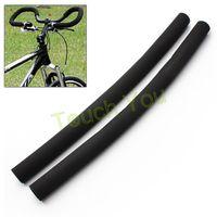 Wholesale New Hot Bicycle Bike Skidproof Handle Bar Sponge Cover Soft Foam Matte Handlebar Grips Bicycle Grips