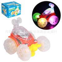 Wholesale Hot toys for children WJ270A Electric universal stunt car with music light to spread the goods toy gifts