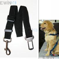 dog harness - New Dog Padded Car And Walking Harness Travel Seatbelt Lead