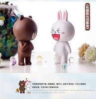 Wholesale Hot new package toy mail bear and rabbit MOON doll OEM