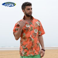 aloha shorts - US Size New Fashion Mens Hawaiian Shirt Short Sleeve Men s Summer Casual Loose Shirt Floral Printing Aloha Shirt V24