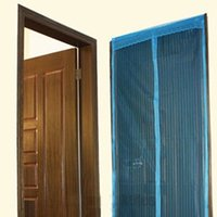 anti mosquito fabric - Anti Insect Fly Bug Mosquito Door Curtain Netting Mesh Screen Magnet Curtains