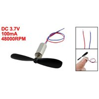 rc aircraft propeller - DC V RPM Coreless Motor Propeller for RC Aircraft Helicopter Toy Wonderful Gift