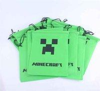 Wholesale My new minecraft creeper JJ strange world coolie gift pouch