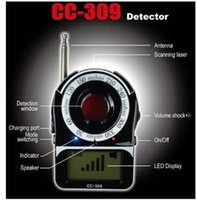 Wholesale High Quality CC detector Full Range Anti Eavesdropping Device and Anti Camera Wireless RF bug Detector