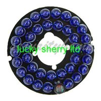 Wholesale 36 Blue Leds Infrared IR mm Degrees Board nm for Security CCTV Camera