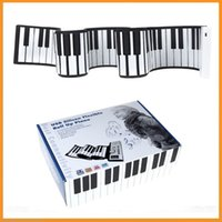 Wholesale Top Quality New Portable USB Midi Flexible Roll Up Piano Keys Electronic Silicon Keyboard Dropshipping