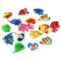Wholesale 5 Artificial Tropical Fish Jellyfish for Aquarium Fish Tank Ornament Decor Random Color