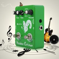 Wholesale JOYO JF True Bypass Design Voodoo Octave Fuzz Electric Guitar Effect Pedal For Lt s Perfect For Cool Sound Effects