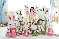 add figures - Marvel select The new fruit Love rabbit plush toys Doll doll Plush mascot customized can add logo