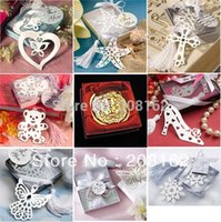 Wholesale Creative Metal Bookmarks Refinement Stationeries For Books Kids Gifts Wedding Favors A Variety Of Styles Sent At Random