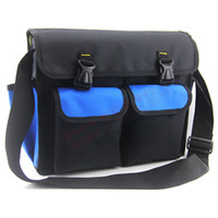 Wholesale Large Size Tool Bag D Oxford Fabric Hardware Toolkit Shoulder Strap Waterproof Blue