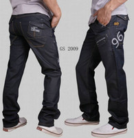 low price jeans - Low priced promotions High quality new men s jeans three dimensional stitching Embroidery coating black jeans men plus size30