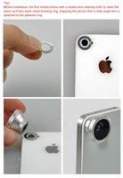 Wholesale 3 in Wide Lens Macro Lens Fish Eye Lens For iPhone s s c for all mobile phones Digital Camera