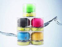 Wholesale New styles Portable Waterproof Wireless Bluetooth Speaker Shower Car Handsfree Receive Call Music Suction Phone Mic Promotion