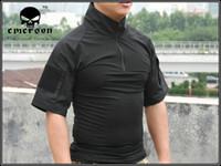 Wholesale Emerson Tactical Combat shirt Perspiration T Shirt Black EM8565