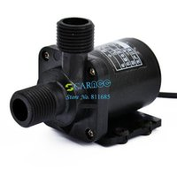Wholesale DC V Electric Centrifugal Water Pump Black High Quality