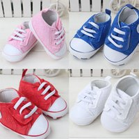 baby converse shoes - Fashion Spring Baby Girls Crochet First Walker Kids Converse Canvas Casual Shoes Children Summer Anti slip Prewalker Infant Footwear GZ S56