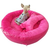 Wholesale New Arrival Round Bone Design Pet Dogs House Bed Bed for dog