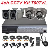 best kits ir cameras - CCTV system ch cctv kit best Sony effio TVL varifocal IR cctv zoom lens securiy video camera CH full D1 HD DVR digital video recorder