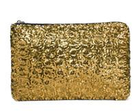 Wholesale Women s Retail New Dazzling Glitter Sparkling Bling Sequins Evening Party purse Bag Handbag Women Clutch wallet